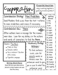What About Me? Reading Street Grade 3, Unit 1, Week 2 http