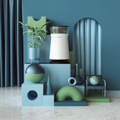 3 d on Behance 3d Design, Pattern Design, House Design, Smart Home Design, 3d Artwork, Still Life Photography, Motion Design, Installation Art, Decoration