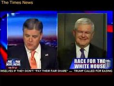 Trump Says He's Millions More Votes Than Rivals - Trump To Set Record - Newt Gingrich - Hannity