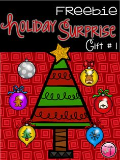 Holiday Surprise Freebie  Gift #1 by Teach Me T | TpT
