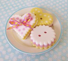 'Cute as a Button' Soap Making Tutorial