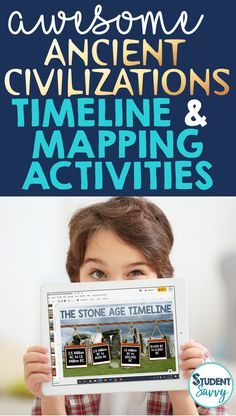 Ancient Civilizations Timeline and Mapping Activities Teacher Freebies, Teacher Blogs, Teacher Resources, Interactive Timeline, Interactive Notebooks, Map Activities, Classroom Activities, Student Teaching, Teaching Tips