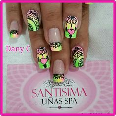 Nails, Pretty Nails, Short Nail Designs, Nail Art, Manualidades, Mandalas, Finger Nails, Ongles, Nail