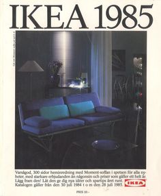 Toutes les couvertures des catalogues IKEA ( 1951   2014 ) IKEA 1985 Catalogue couverture 660x800