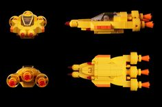Lego Yellow Fighter