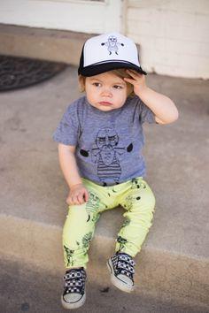 Salt City Emporium-Strong man t-shirt, hat and skinny leggings