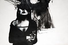 Contemporary art in Iran: Afshin Pirhashemi, 'Revenge', 2012, oil on canvas