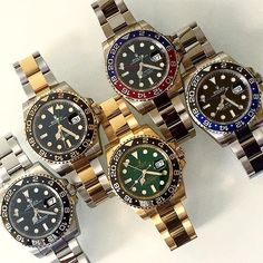 Rolex GMT-Master II collection