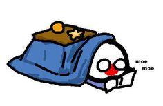 Japanball have warmed in Kotatsu by Sunny Chow #polandball #countryball