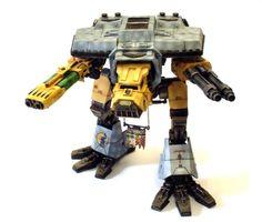 Warhammer 40k Warhound Titan  -LOOK AT THAT PLASMA CANNON
