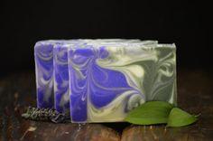 Lavender Mint Artisan Soap, Vegan Handmade Soap, Fresh Rustic Spring Soap, Luxury Unisex Herbal Aroma Soap, Shower Bath Creamy Soap Bars on Etsy, $6.50