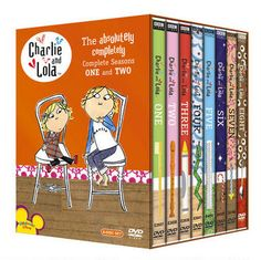 Charlie & Lola: The Absolutely Completely Complete Seasons One and Two DVD