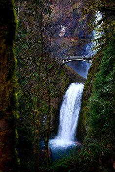 Multnomah Falls, Oregon. One of my favorite places.