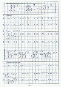 Gyere mesélj! - Képgaléria - Sulis feladat lapok (alsó tagozat) - Kiszámoló 4. osztály Bullet Journal, Math Equations