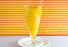 suco de manga, maracujá e mel
