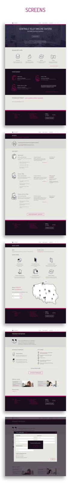 DATERA SA - Web Design on Behance