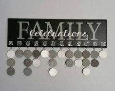 Family Birthday Board Kit DIY Kit DIY Crafts Family by SignChik