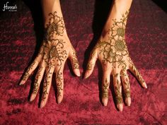 100% organic henna body art by Hennali: Art by Carli