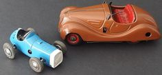 1940's Schuco wind up cars