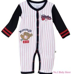 Sport Fashion, Fashion Outfits, Baby Winter, Baby Outfits Newborn, Baby Bodysuit, Sports, Cotton, Clothes, Baseball