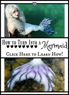 How to Become a Mermaid: 4 Ways to Transform into a Mermaid without a Magic Spell (for Adults) — The Magic Crafter Mermaid Beach, Mermaid Diy, Mermaid Tails, Mermaid Swimming, Real Mermaids, Mermaids And Mermen, Mermaid Spells, Purple Blue Ombre, Professional Mermaid