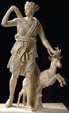 Ancient Greek & Roman Sculpture: Artemis Diana of Versailles