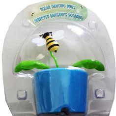 Solar Powered Dancing Flip Flop Toy Little Bee Plant Pot Swing  Balli Gifts Online Store