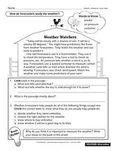 weather instruments worksheet 4th grade science pinterest worksheets schools and the o 39 jays. Black Bedroom Furniture Sets. Home Design Ideas