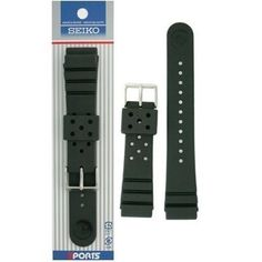 cool Seiko Rubber Watch Band Original 22mm for Divers Model  –