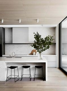 Design Living Room, Kitchen Room Design, Home Decor Kitchen, Interior Design Kitchen, Home Kitchens, Kitchen Ideas, Diy Kitchen, Kitchen Hacks, Kitchen Wood