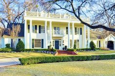 A Classic Southern Mansion... Country Club Circle in Fort Worth, Texas