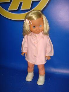 Muñeca vintage año 1964 Mattle descatalogada MERCEDITAS ropa original