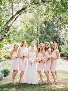 Pink and Gray Knoxville Garden Wedding - http://fabyoubliss.com/2015/02/25/pink-and-gray-knoxville-garden-wedding