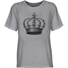 Mintage Kings Crown Youth Fine Jersey T-Shirt