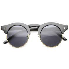 ab91a49e01 Mens Semi-Rimless Sunglasses With UV400 Protected Composite Lens