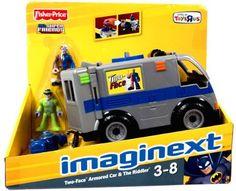 Imaginext DC Super Friends Exclusive Vehicle TwoFace Armored Car with Riddler Imaginext http://www.amazon.com/dp/B003YCMEMI/ref=cm_sw_r_pi_dp_x3Veub1D1AREX
