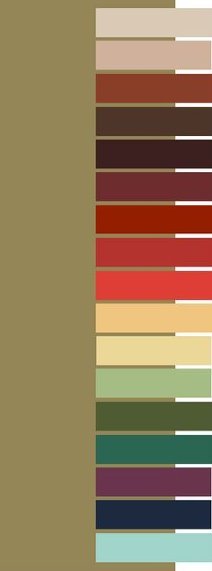 Khaki color palette for Dark Autumn Colour Schemes, Color Combos, Color Patterns, Deep Autumn, Warm Autumn, Fall Color Palette, Colour Palettes, Color Me Beautiful, Color Balance