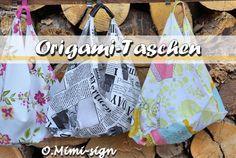 Tutorial - Origami Tasche