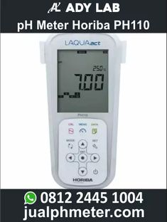 jual pH Meter Horiba PH110 Ph Meter, Cooking Timer, Lab, Digital, Labs, Labradors
