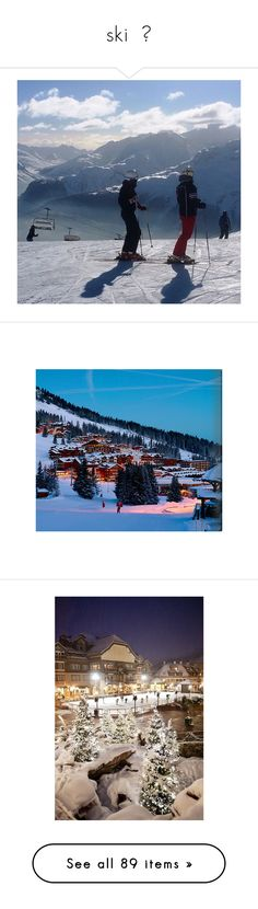 """""""ski  🏂"""" by the-dynasty ❤ liked on Polyvore featuring home, home decor, wall art, artists, photographic wall art, panoramic posters, panoramic wall art, photography wall art, ski resort posters and lake wall art"""