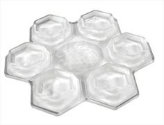 Demon SNOW FLAKE Snowboard Stomp Pad, Clear