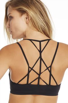 Love this sports bra!   It's called Tribal Knot by Fabletics (Kate Hudson's athletic brand.)  They don't always have it available to order, but I'm hoping they bring it back soon!!  #Fabletics and #WishItSweeps