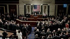 President Donald Trump addresses a joint session of Congress for the first time ... expressing the State of the Union ... and his intended goals and actions on a variety priorities including ... the military, veterans affairs, infrastructure, tax reform, healthcare, immigration, domestic energy efforts, and America's overall security.