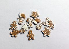 Christmas Cookies Dollhouse Miniature 112 by SaraMadeCreations