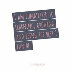 Who else is making this commitment with us right now??!! Learn, grow and be the best you can be. Never a better time than now!!