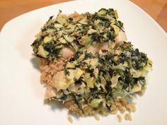 Spinach and Artichoke Chicken #healthy #dinner #recipe #chicken #spinach #artichoke