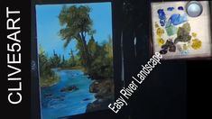 This is a step by step landscape painting tutorial. In this video I show you how to paint a river  going through a small grassy meadow . I share my techniques in detailed steps that are easy for you to follow. Enjoy!  This is a full step by step learn to Beginners Acrylic Painting        Easy to follow every part of the painting process to get you a great finished painting. in a fun teaching lesson using several reference sources to bring you a true teaching experience  Im painting on a 10 x…
