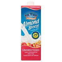 Blue Diamond Almond Breeze Unsweetened Long Life Milkimage