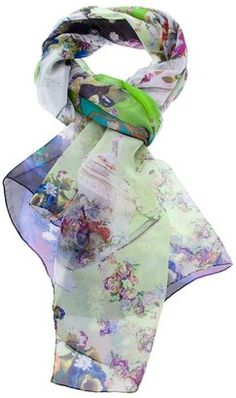 Jane Carr printed scarf