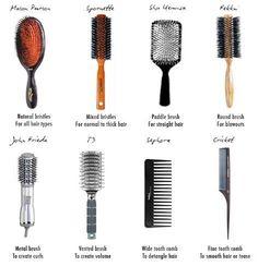 Alle kvinner drømmer om et tykt luksuriøst hår med naturlig fall. Men fortvil ikke! Her er noen tips for å gjøre håret tykkere.   - Ikke gå til sengs med vått hår.  - Ikke bruk hårføner direkte på hårroten.  -Tørk håret grundig før du går ut. Dette er spesiel viktig nå på høsten og vinteren. - Ikke overdriv bruk av styling verktøy.  - Kast kammer av plast. . Vi anbefaler kam av tre eller børste med naturlig bust.   - Tørk håret med hodet bøyd ned. Dette trikset gir håret glans og letthet. Paddle Brush, Vintage Microphone, Smooth Hair, Hair Brush, Hair Type, Hair Hacks, Straight Hairstyles, Metal, Tips